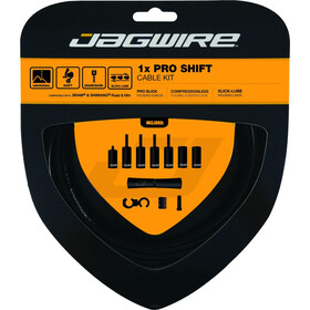 Jagwire 1X Pro Shift Vaihdekaapelisetti, black